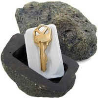 Hide-a-Key Fake Rock - Looks & Feels Like Real Rock