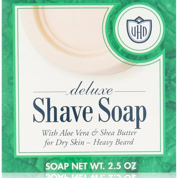 Van Der Hagen Deluxe Shave Soap 2.5-Ounce Boxes (Pack of 12) Pack of 12