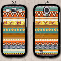 Aztec Samsung Galaxy S3 Case, Samsung Galaxy S4 Case, Hard Plastic Phone Cases, Please Choose Case Model