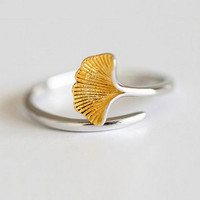Emma mermaid 925 Sterling Silver Ring