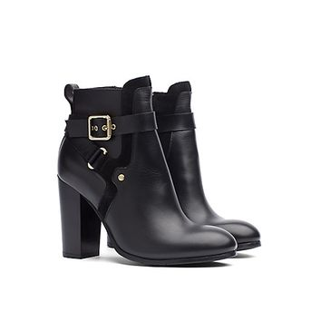 CRISSCROSS ANKLE STRAP BOOT | Tommy Hilfiger