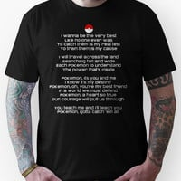 Pokemon Theme Song Tee Unisex T-Shirt