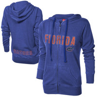 Florida Gators Ladies Shaka Full Zip Hoodie - Royal Blue
