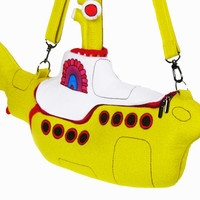 The Yellow Submarine Bag by krukrustudio on Etsy