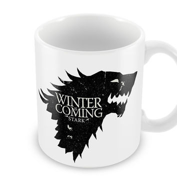 game of thrones mugs house stark mugs coffee mug cups ceramic white mug home decal porcelain tea cups drink water milk beer
