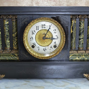 Vintage Clock - E Ingraham Mantel Clock