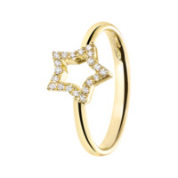 Starters Ring Star Yellow Gold | Rings RenéSim