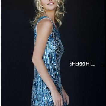 Sherri Hill 1967 Sequin Tank Dress