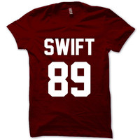 Taylor swift Shirt Taylor Swift 1989 Shirt Logo Unisex T-Shirt Tee Size S,M,L,XL (T-1)