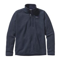 Patagonia Men's Better Sweater® Quarter Zip Fleece | Pale Khaki