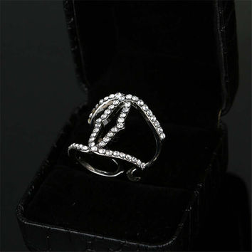Women Fashion Casual Retro Hollow Out Ring Best Gift Rings-17