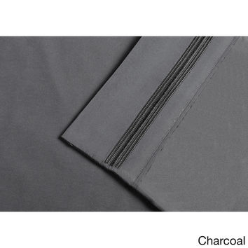 Wrinkle Resistant Embroidered 5-line Sheet Set with Gift Box | Overstock.com Shopping - The Best Deals on Sheets