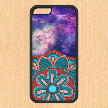 Mandala in Space V3 PC SEC1 Print Design Art iPhone 4 / 4s / 5 / 5s / 5c /6 / 6s /6+ Apple Samsung Galaxy S3 / S4 / S5 / S6