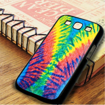 Tie Dye Multi Color Cut Spiral Samsung Galaxy S3 Case