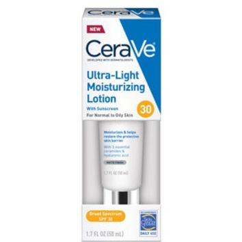 CeraVe Ultra-Light Moisturizing Lotion with SPF 30, 1.7 OZ | CVS