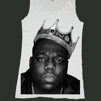 THE NOTORIOUS BIG biggie smalls singlet screen print tank top ety188v