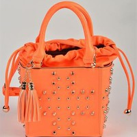 Carla Giannini SS/2013 Studded Purse Made in Italy - Carla Giannini Summer Apparel for Her - Modnique.com