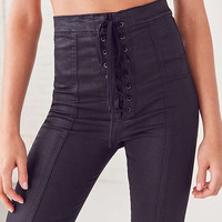 BDG Twig High-Rise Skinny Jean – Lace Up | Urban Outfitters