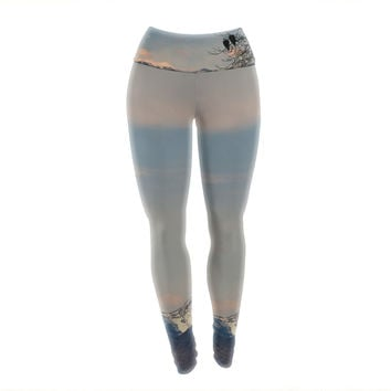 "Robin Dickinson ""Majesty"" Nature Landscape Yoga Leggings"