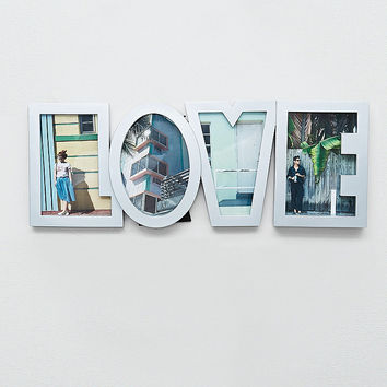 Love Photo Frame in Grey - Urban Outfitters