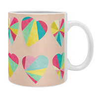 Jacqueline Maldonado Some Hearts Coffee Mug