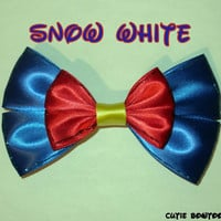 Snow White Hair Bow Disney Inspired