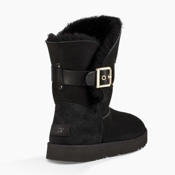UGG Women Fur Winter Half Boots Shoes-2