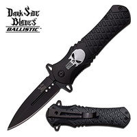Tac Force Assisted Opening Rescue Tactical Pocket Folding Punisher Knife Outdoor Survival Camping Hunting Knife