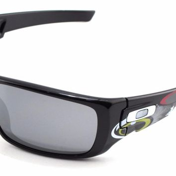 New Oakley Sunglasses Crankshaft Troy Lee Designs w/Black Iridium #9239-18