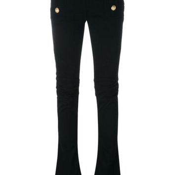 DCCKIN3 Balmain Flared Sailor Jeans