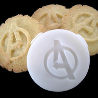 THE AVENGERS inspired COOKIE Stamp recipe and instructions - make your own Comic Cookies