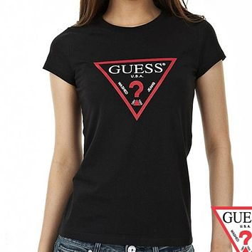 Guess Woman Fashion Casual Shirt Top Tee