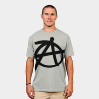 Anarchy Symbol T Shirt By Bruzer Design By Humans