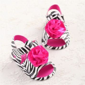 2017 Spring Shoes for Girls Flower Baby Girl Summer Leather Lace-up Shoes Sneakers for