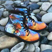 Colorful Chicken Boots-Clearance