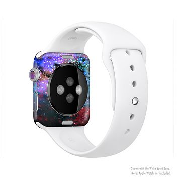 The Neon Colored Paint Universe Full-Body Skin Kit for the Apple Watch