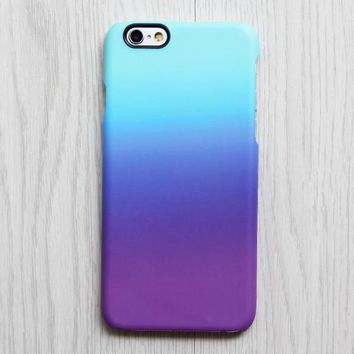 Violet Turquoise Pastel iPhone XR Case | iPhone XS Max plus Case | iPhone 5 Case | Galaxy Case 3D 085