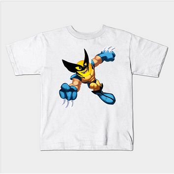 Emoji Face Super Hero Kids Juvenile T-Shirt (Ages 4-7)