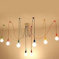 Modern Colorful Decorative Energy Saving Ceiling Lamp with E27 Bulb Base