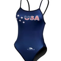 Turbo USA One Piece at SwimOutlet.com - Free Shipping