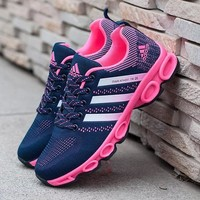 Adidas Women Fashion Ventilation Running Sneakers Sport Shoes H 8-7