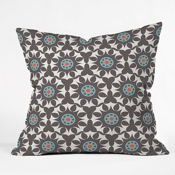 Heather Dutton Amirah Dusk Throw Pillow