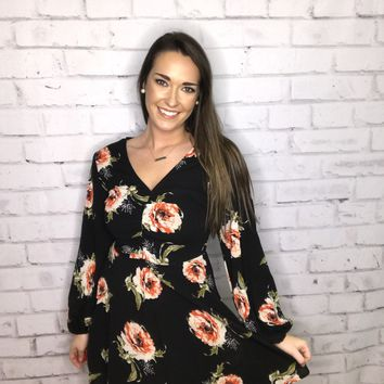 Everything I Want Floral Dress