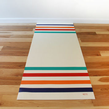 Yoga mat work out mat health and well being fitness mat: SAMPLE SALE
