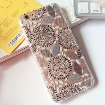 Black Sunflower iPhone 7 7 Plus & iPhone 6 6s Plus & iPhone 5s se Case Personal Tailor Cover + Gift Box-472