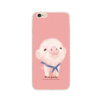 Lovely Cartoon Animal phone Case For iphone 7