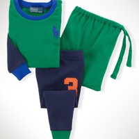 Color-Blocked Sleep Set - Sets   Infant Boy (9M–24M) - RalphLauren.com