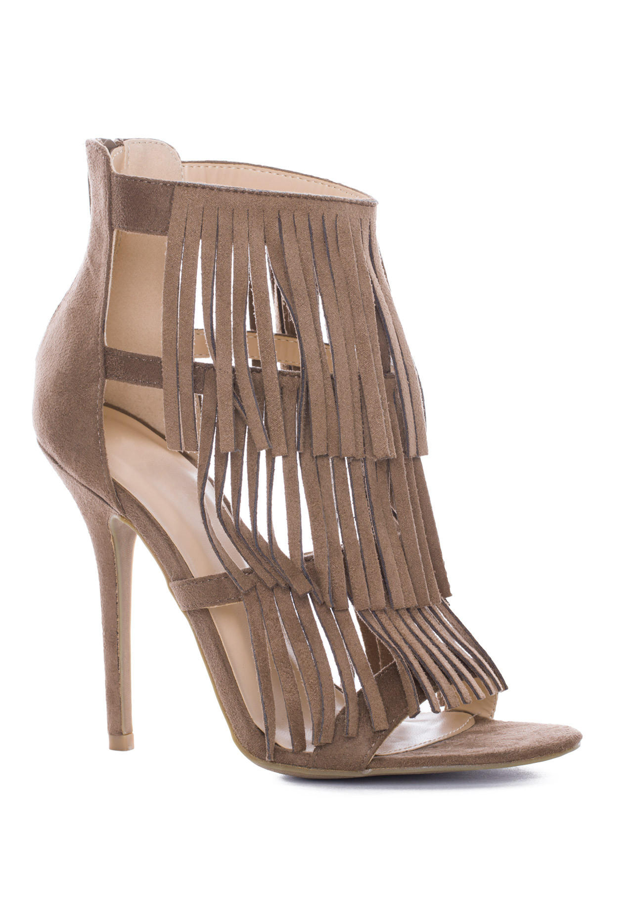 quincy fringe heels taupe from shop priceless new arrivals forest green sofa for sale forest green sofas