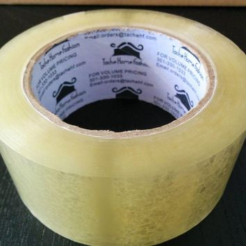 72 Rolls Clear Acrylic Sealing Packing Tape 1.89 Inches x 110 Yard x 1.89 MIL