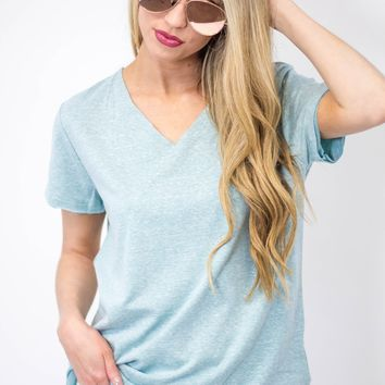 Triblend French Terry Tee